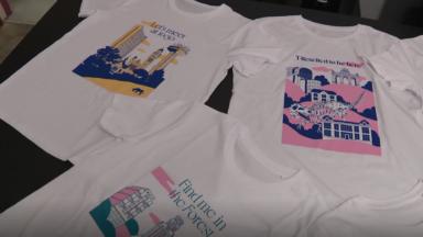 Des T-shirts à l'effigie de quartiers bruxellois et dessinés par des Bruxellois