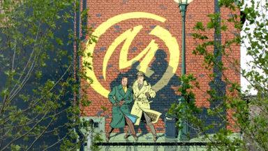 Bruxelles-Ville : la fresque Blake et Mortimer sera réinstallée dans les Marolles