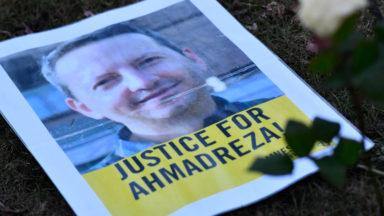 Condamnation à mort du professeur Djalali (VUB) : trois jours d'actions devant l'ambassade d'Iran