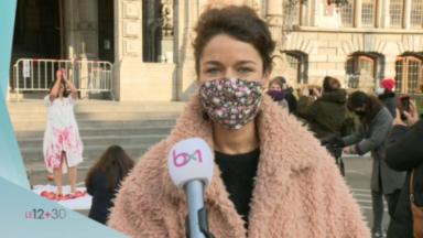 Schaerbeek : performance artistique contre les violences à l'égard des femmes