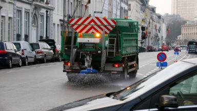 Des épandages de sel préventifs sur les routes bruxelloises
