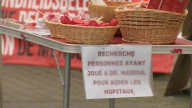Des soignants d'Erasme protestent pendant 24h contre la délégation d'actes infirmiers