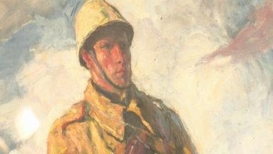 FALO : qui était le peintre officiel de l'Armée belge, au début du 20e siècle ?