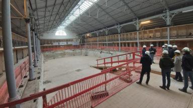 Ixelles : le chantier de la piscine devrait s'achever à l'été 2022