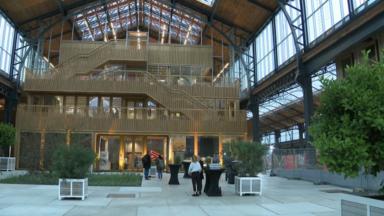 Tour & Taxis : la rénovation de la Gare Maritime remporte un concours architectural néerlandais