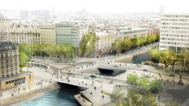 Les travaux de la Place Sainctelette débuteront en avril 2022