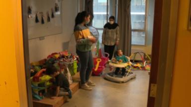 Plan hiver : visite de la ministre Karine Lalieux au centre de la Croix-Rouge à Bruxelles