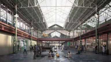 Le futur musée Kanal-Centre pompidou obtient son permis d'urbanisme