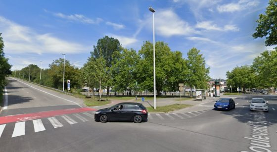 Boulevard Sylvain Dupuis Ring Anderlecht - Google Street View