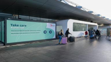 Brussels Airport : l'aéroport supprime la prise de température, avec la généralisation des tests