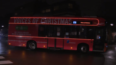 Un bus de la Stib diffusera bientôt vos plus beaux vœux de Noël
