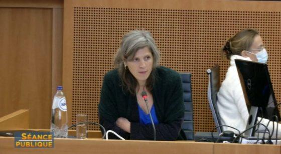 Céline Nieuwenhuys - Séance Publique Commission Covid - Capture BX1
