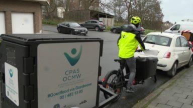 Berchem-Sainte-Agathe : le CPAS lance son premier service de livraison de repas en vélo