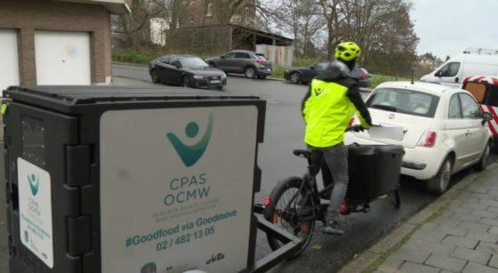 CPAS Berchem Urbike Livraison repas à vélo - BX1
