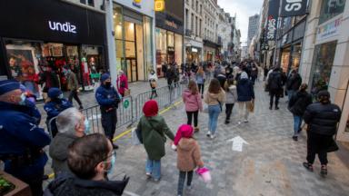 Les commerces bruxellois ont fait le plein de clients pour le premier week-end de réouverture