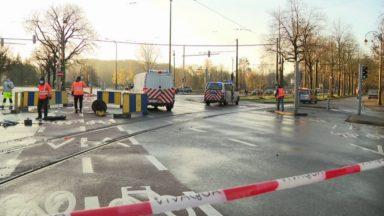 Woluwe-Saint-Pierre : l'avenue de Tervueren complètement rouverte ce vendredi soir