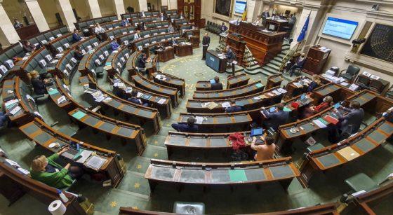 Chambre - Vote du Budget 2021 Coronavirus - Belga