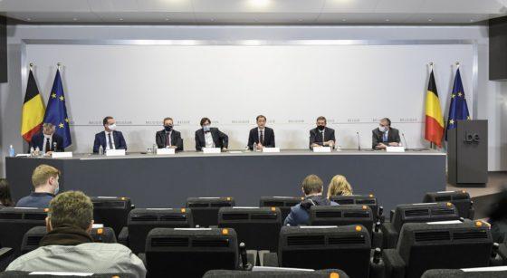 Comité de concertation Alexander De Croo - Belga
