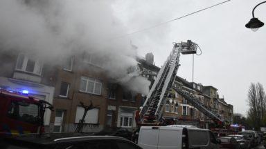 Incendie à Laeken : sept personnes intoxiquées en voulant évacuer les lieux