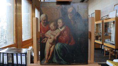 Saint-Gilles : une œuvre de Jordaens se cachait dans la maison communale depuis 60 ans