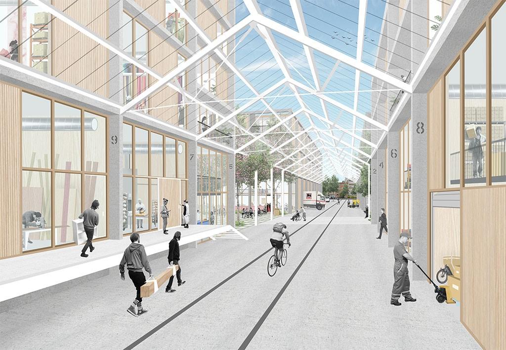 Lioncity Osseghem - Projet 1 - Architectuurplatform Terwecoren Verdickt bvba Duss BV Cultureghem vzw Mark Brearley's office