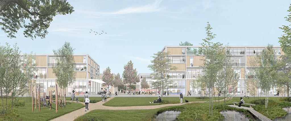 Lioncity Osseghem - Projet 2 - Architectuurplatform Terwecoren Verdickt bvba Duss BV Cultureghem vzw Mark Brearley's office