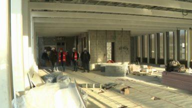 Uccle : le nouveau centre administratif prend forme près de Stalle