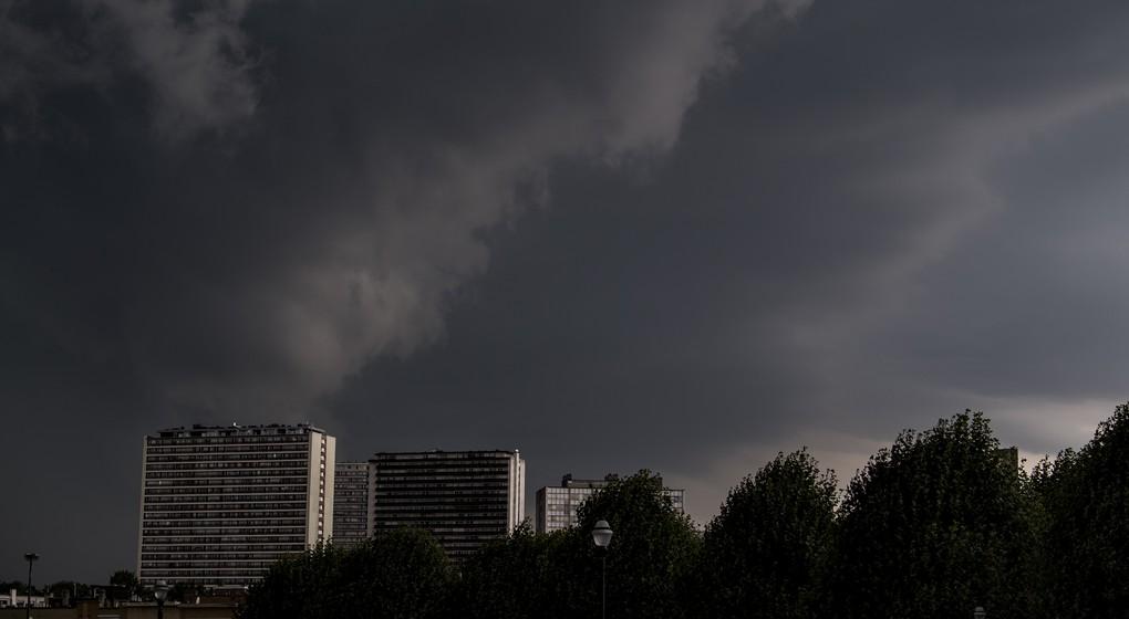 Nuages ciel gris Météo Bruxelles Laeken - Belga Jasper Jacobs