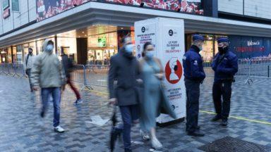 """Début des soldes d'hiver à Bruxelles : """"Les commerces du centre-ville ont été jusqu'ici exemplaires"""""""