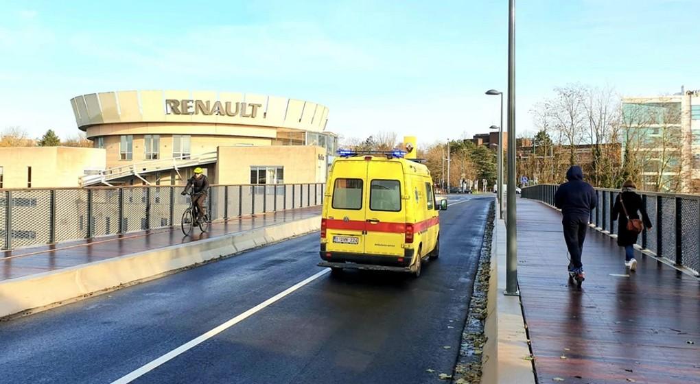 Pont Fraiteur Réouverture - Bruxelles Mobilité