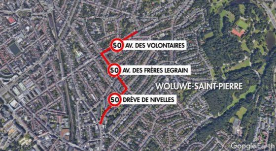 Quartier Chant d'Oiseau Zone 30 - Infographie BX1 Google Earth