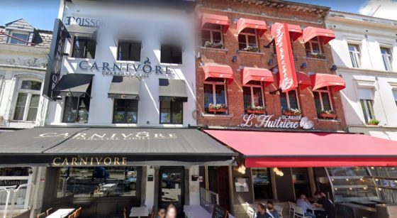 Restaurants Le Carnivore L'Huitriere Bruxelles - Capture Google Street View