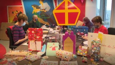Bpost transmet toutes les lettres des enfants sages à Saint-Nicolas