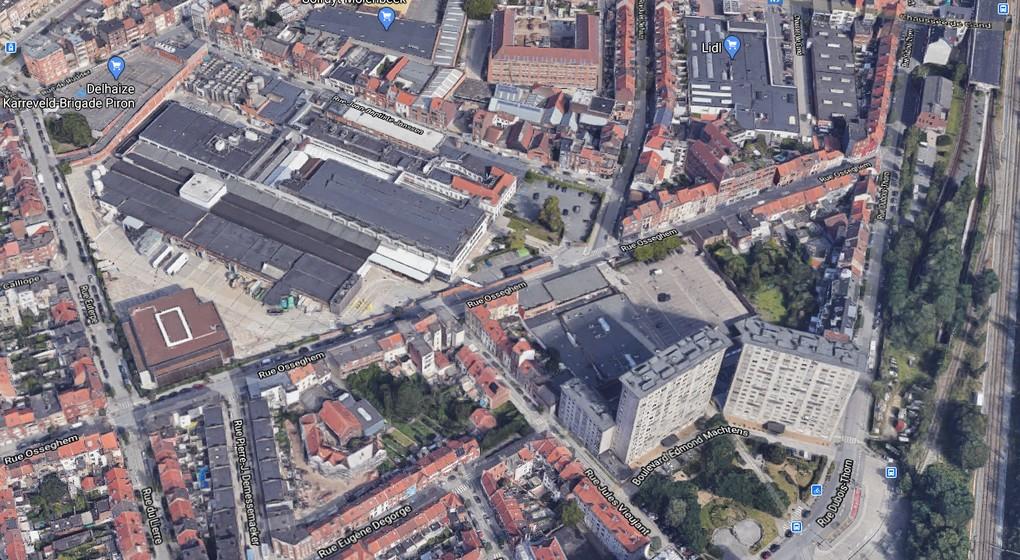 Site Delhaize - Google Maps 3D