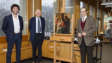 Une œuvre de Jacques Jordaens retrouvée dans la maison communale de Saint-Gilles