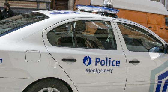 Voiture de police Zone Montgomery Etterbeek - Belga Olivier Vin