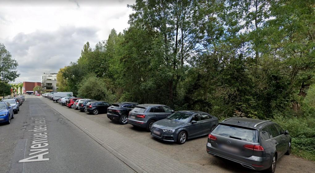 Woluwe Saint-Lambert Avenue des Iles d'Or Futur parc - Google Street View