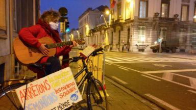 """L'action """"60 heures pour le climat"""" s'est achevée ce mercredi soir à Bruxelles"""