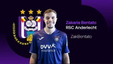 Zakaria Bentato veut offrir le titre au Sporting d'Anderlecht en ePro League