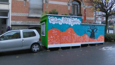 Schaerbeek : le Citizen Bike Garden devra être démonté pour le 4 janvier