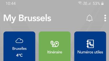 Tout Bruxelles dans votre poche en une application
