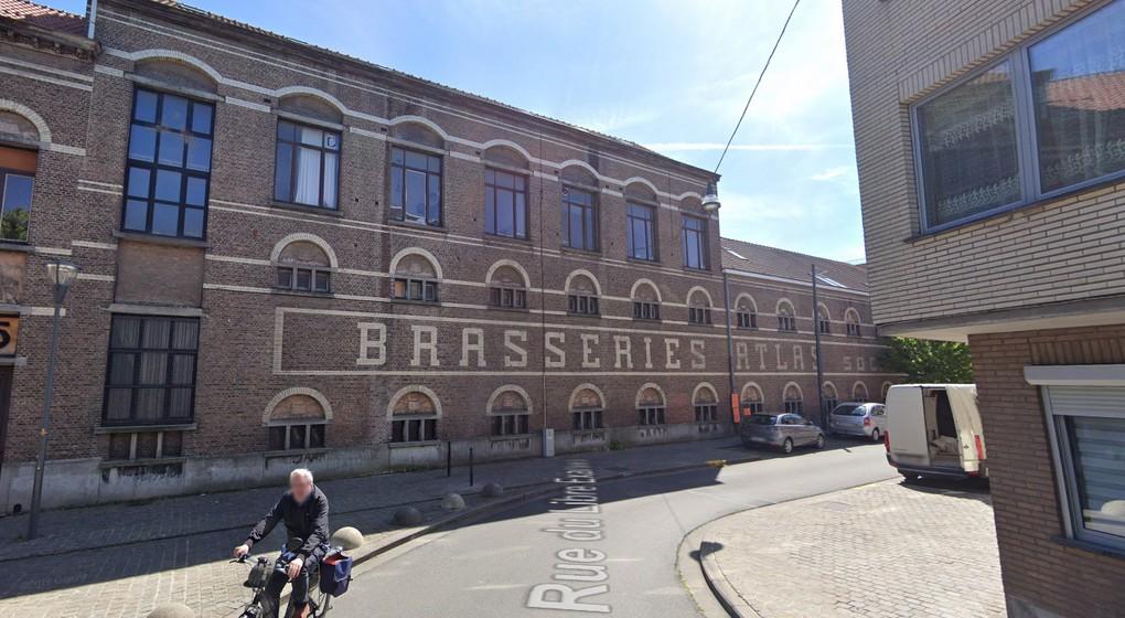 Anderlecht Brasseries Atlas - Google Street VIew