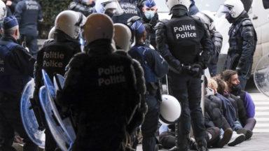 86 mineurs arrêtés lors du rassemblement à la gare centrale
