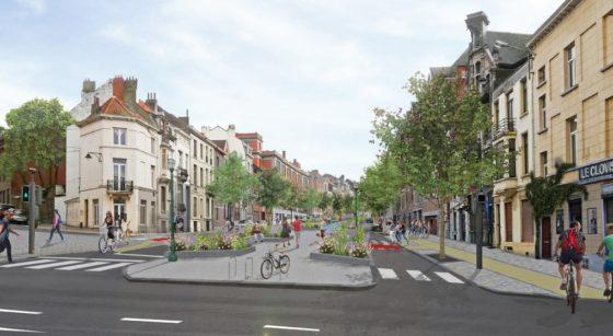 Boulevard Clovis Réaménagement - Ville de Bruxelles