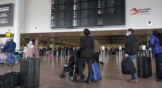 Brussels Airport Covid - Belga Nicolas Maeterlinck