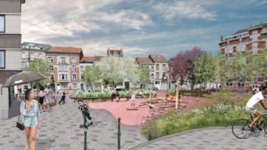 Quartier Heysel/Sobieski : le rond-point de la rue Reper-Vreven va devenir une place piétonne
