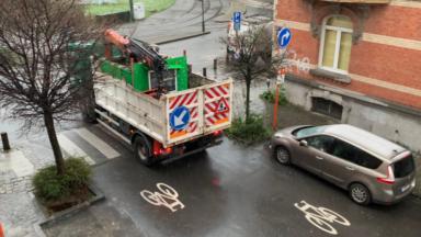 Schaerbeek : le Citizen Bike Garden a été enlevé par la commune