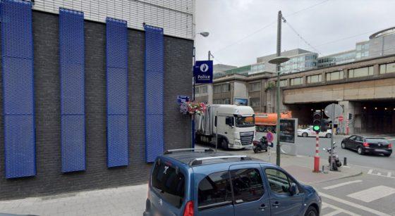 Commissariat de Police Brabant Place du Nord Saint-Josse - Google Street View