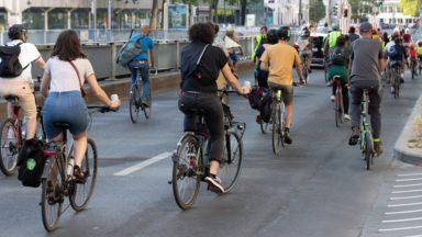 69% des Bruxellois favorables à plus d'espace pour les cyclistes et piétons