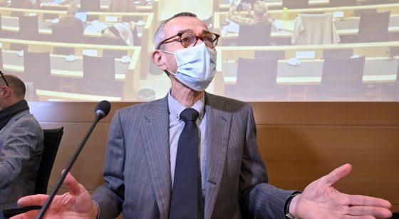 Frank Vandenbroucke Ministre de la Santé - Belga Eric Lalmand